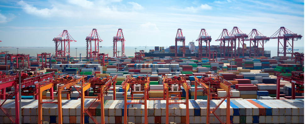 China is enforcing emissions regulations at 11 ports for ships carrying shipments of export cargo and import cargo in international trade.