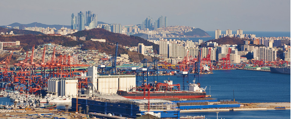 DP World increased stake in Busan terminal that handles shipments of export cargo and import cargo in international trade.