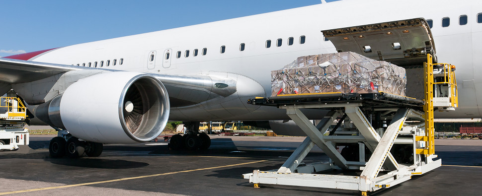 TSA policies govern air shipments of export cargo and import cargo in international trade.