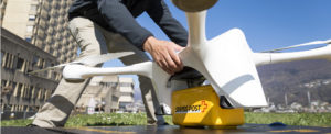 Swiss Post Drone Flies Lab Samples