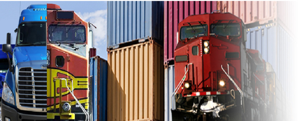 Domestic intermodal often carries shipments of export cargo and import cargo in international trade.