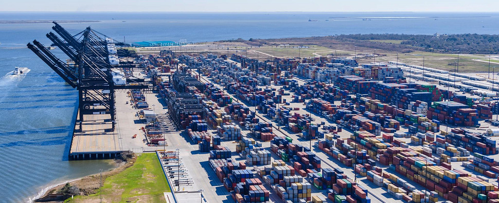 Modernization will allow port to handle more shipments of export cargo and import cargo in international trade.