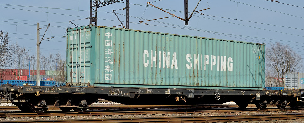 New service carries rail shipments of export cargo and import cargo in international trade.