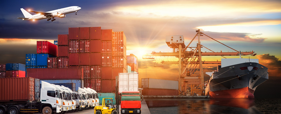 Freight TSI doesn't measure shipments of export cargo and import cargo in international trade.