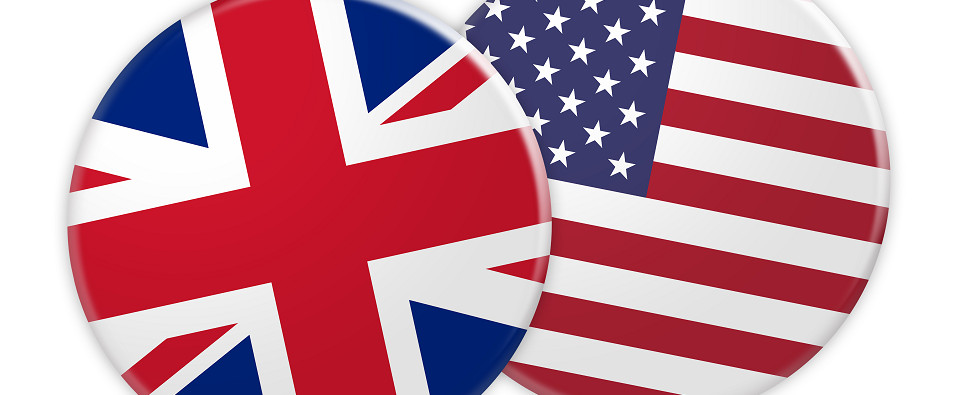 US businesses have growing numbers of shipments of export cargo and import cargo in international trade with the UK.