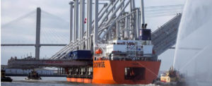 Four More Neopanamax Cranes Arrive at Port of Savannah