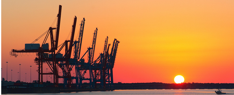 Expansions will allow port to handle more shipments of export cargo and import cargo in international trade.