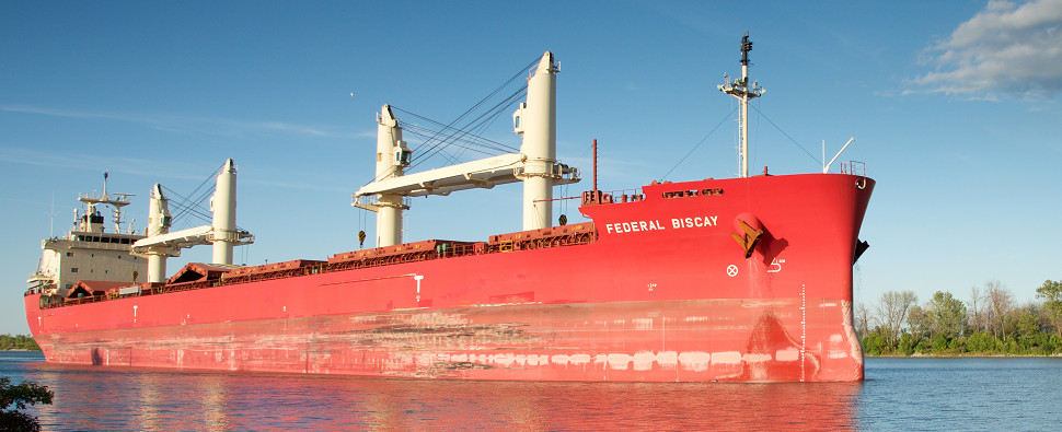 St. Lawrence Seaway saw more shipments of export cargo and import cargo in international trade in 2017.