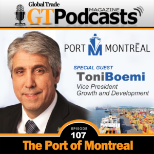 Toni Boemi from the Port of Montreal