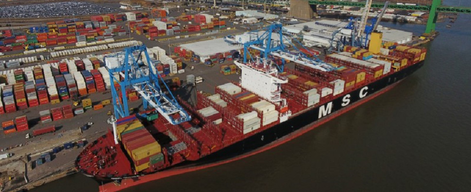Infrastructure improvements will allow the port of Philadelphia to handle more shipments of export cargo and import cargo in international trade.