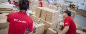 JD.com Boosts Logistics Spinoff