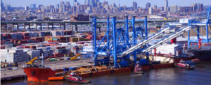 Twin Super Post-Panamax Cranes Arrive at Port of Philadelphia