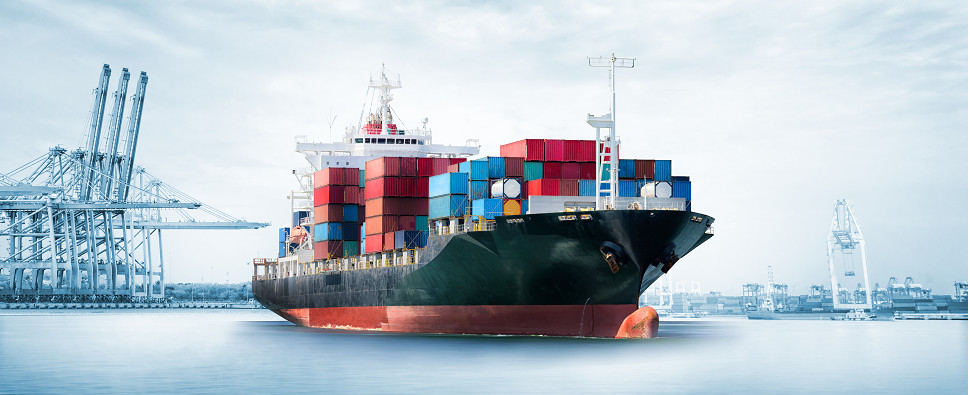 Tool manages ocean rates for shipments of export cargo and import cargo in international trade.