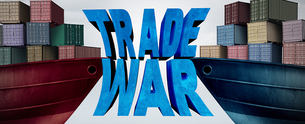 A trade war could jeopardize shipments of export cargo and import cargo in international trade.