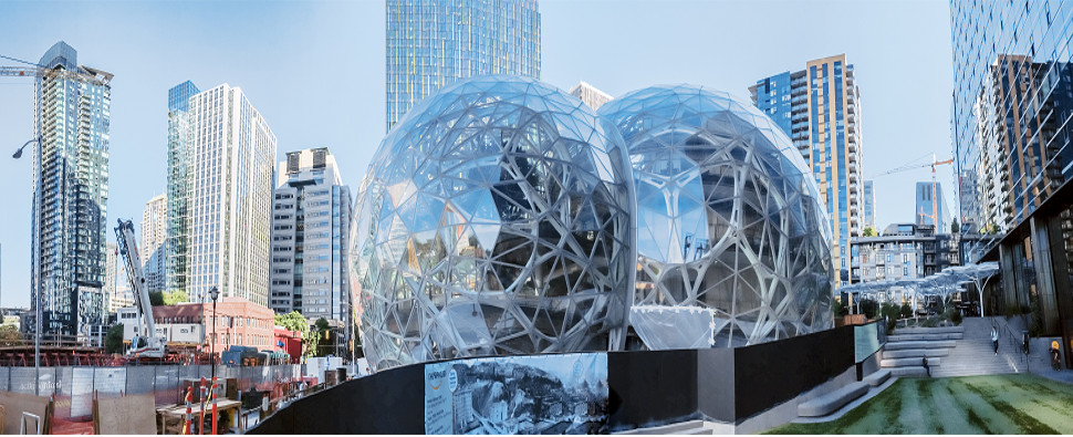 Amazon's second headquarters will attract shipments of export cargo and import cargo in international trade.