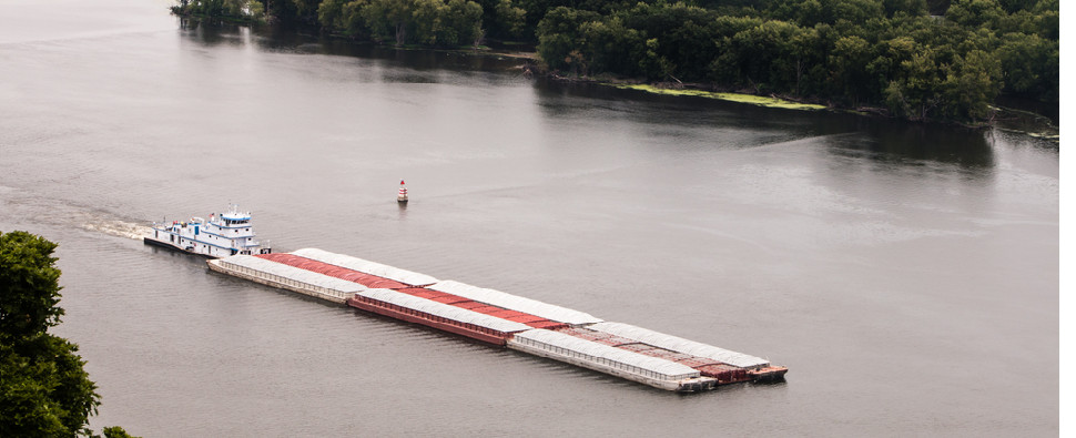 MARAD grants will allow barges to handle more shipments of export cargo and import cargo in international trade.