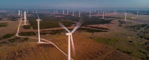 Falling prices for wind power installation