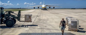 ANTONOV Airlines Steps Up to Support Saipan