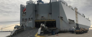 Port of Wilmington Ships Ford Vehicles to Middle Eastern Regions